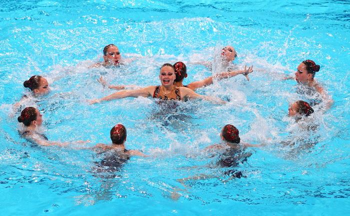 Российские синхронистки одержали победу в седьмой раз. Фото: Al Bello/Getty Images