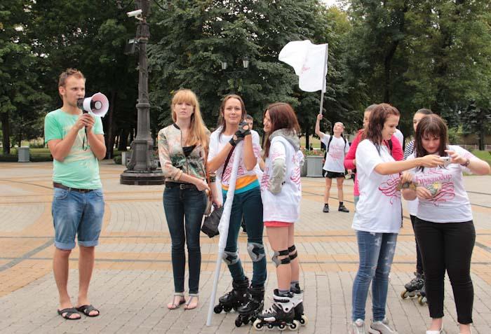 Екатерининский забег в Краснодаре. Фото: Александр Трушников/Великая Эпоха (The Epoch Times)