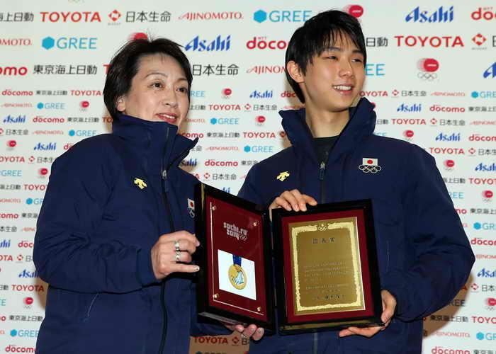 Золотой медалист Yuzuru Ханьюй из Японии. Фото: Robert Cianflone/Getty Images