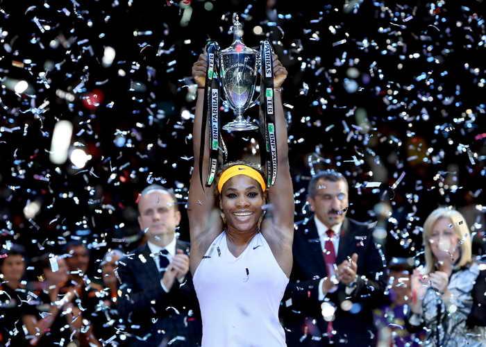 Серена Уильямс в четвёртый раз стала чемпионкой WTA. Фото: Matthew Stockman/Getty Images
