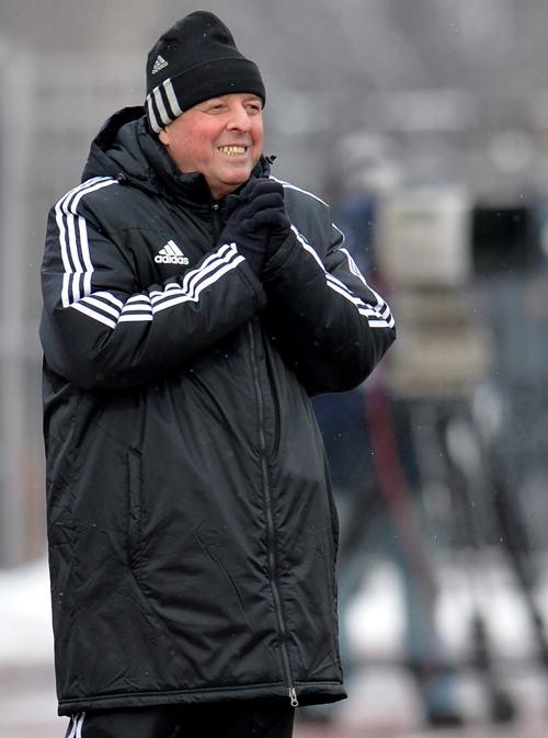Футболисты столичного клуба «Динамо» провели разгромный матч с «Уралом» на домашнем поле в Химках 30 ноября. Фото: Epsilon/Getty Images