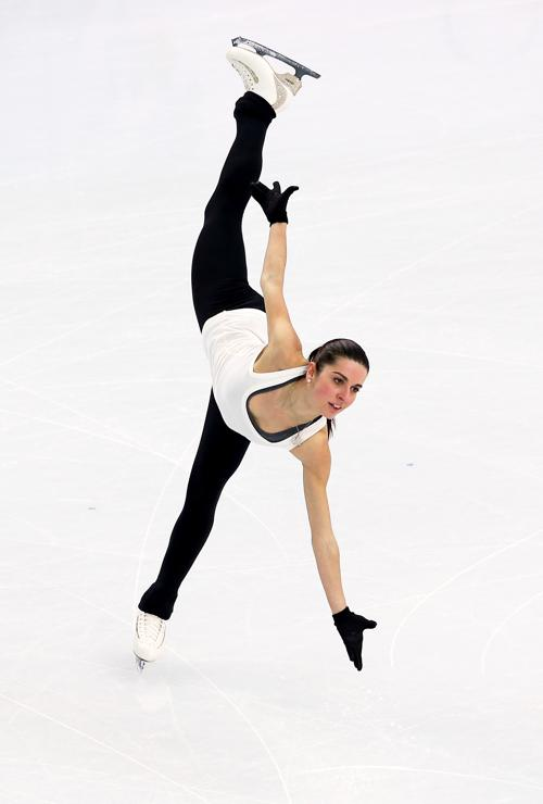 Чемпионка Италии Валентина Маркеи вышла на тренировку в Сочи 5 февраля перед началом Олимпийских игр. Фото: Streeter Lecka/Getty Images