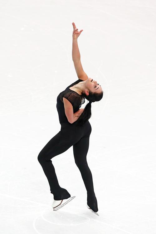 Трёхкратная чемпионка Канады Кейтлин Осмонд вышла на тренировку в Сочи 5 февраля перед началом Олимпийских игр. Фото: Streeter Lecka/Getty Images