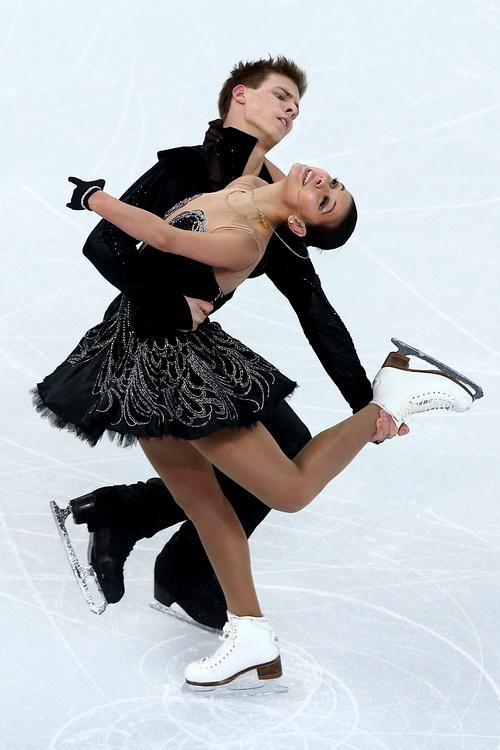 Никита Кацалапов и Елена Ильных выступили 9 февраля в командном турнире по фигурному катанию на Олимпиаде в Сочи. Фото: Clive Mason/Getty Images