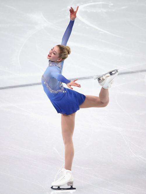 Грейси Голд выступила 9 февраля в командном турнире по фигурному катанию на Олимпиаде в Сочи. Фото: Robert Cianflone/Getty Images
