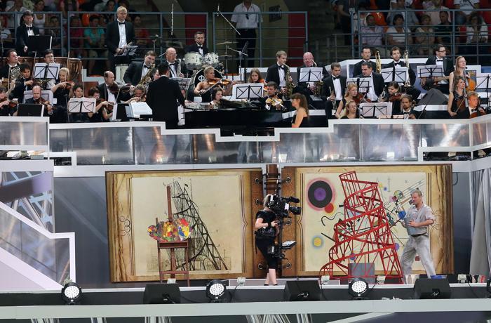 Торжественная церемония открытия четырнадцатого Чемпионата мира по лёгкой атлетике ИИАФ состоялась 10 августа 2013 года на московском стадионе «Лужники». Фото: Christian Petersen/Getty Images