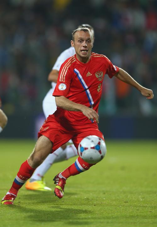 Россияне провели 11 октября 2013 года разгромный матч с футбольной сборной Люксембурга в рамках отборочного тура Чемпионата мира 2014. Фото: Paul Gilham / Getty Images