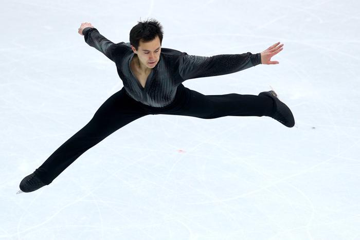 Канадец Патрик исполняет короткую программу на Олимпиаде в Сочи. Чан Фото: Paul Gilham/Getty Images