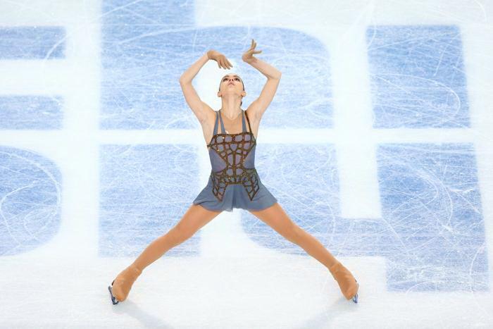 Аделина Сотникова выступила на Олимпиаде с произвольной программой, показав «золотой» результат20 февраля 2014 года. Фото: Paul Gilham/Getty Images
