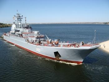 Корабль «Константин Ольшанский» отправлен в Ливию. Фото с foto.mail.ru