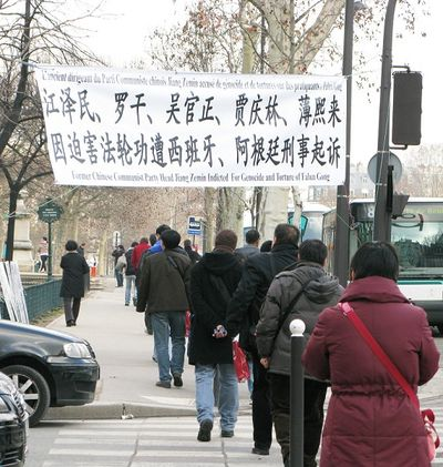 Группа китайских туристов. Фото: Hao Yang/The Epoch Times