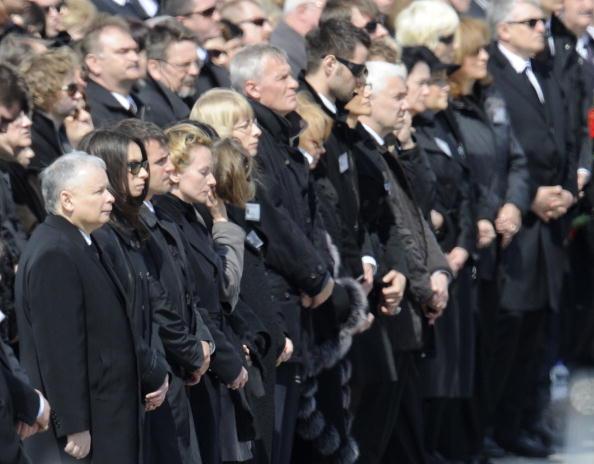 В Польше простились с жертвами авиакатастрофы под Смоленском. Фото:JOHN MACDOUGALL/AFP/Getty Images