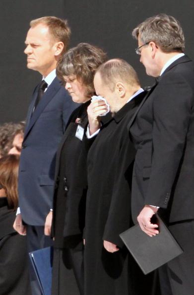 В Польше простились с жертвами авиакатастрофы под Смоленском. Фото: JANEK SKARZYNSKI/AFP/Getty Images