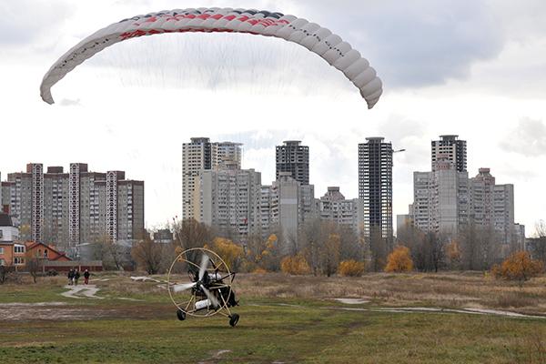 Взлет. Фото: Владимир Бородин/The Epoch Times Украина