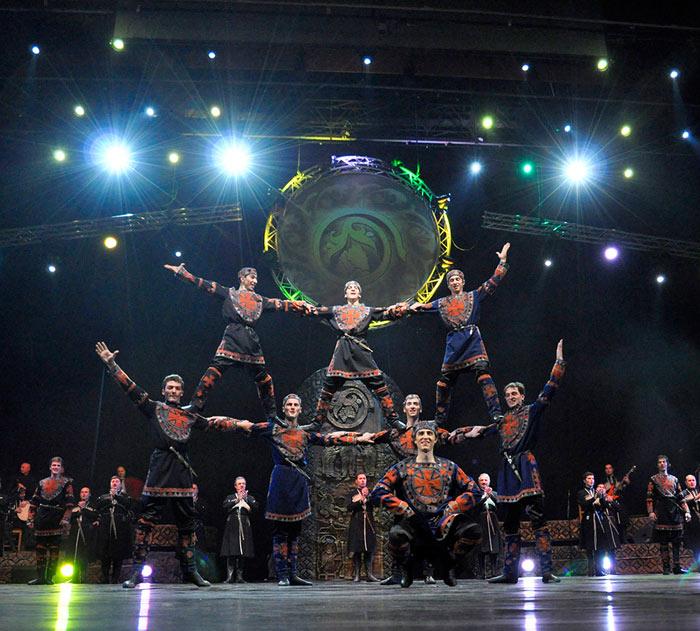 Этно-шоу «Эрисиони. Сокровище Грузии». Фото предоставлено организаторами мероприятия