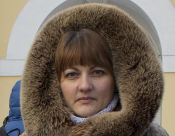 Седоренко Ирина, участник митинга. Фото: Сергей Кузьмин/ Великая Эпоха (The Epoch Times)