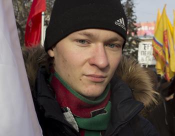 Игорь, студент, поддерживает взгляды партии