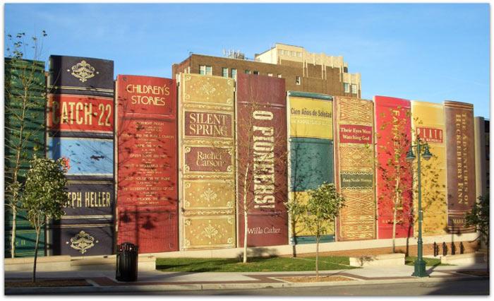Центральная библиотека Канзас-сити. Штат Миссури, США. Фото: http://dturista.com/