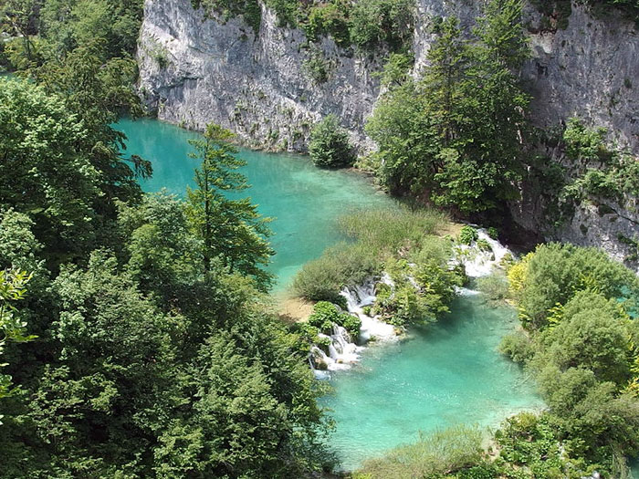 Плитвицкие озёра — национальный парк в Хорватии. Фото: Ahsmann/commons.wikimedia.org