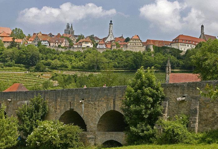 Сказочный городок Ротенбург-на-Таубере, Германия. Фото: TORSTEN BLACKWOOD/AFP/Getty Images