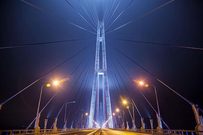 Мост через Золотой Рог, Владивосток. Фото: Баяков Алексей/commons.wikimedia.org