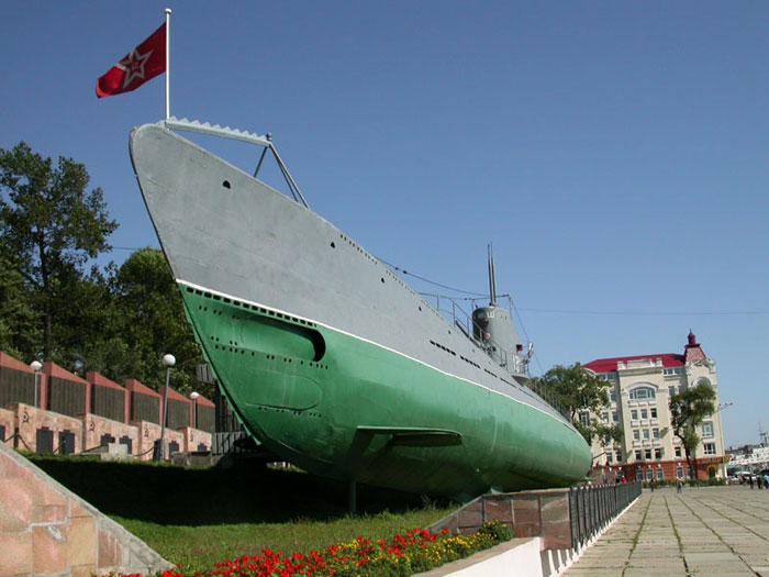 Мемориальная подводная лодка С-56. Фото: Lite/commons.wikimedia.org