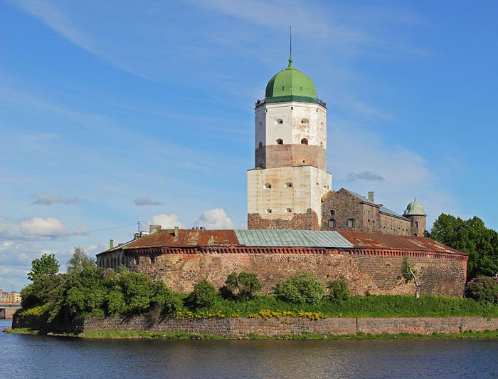 Выборгский замок, Ленинградская область, Россия. Фото: A.Savin/commons.wikimedia.org