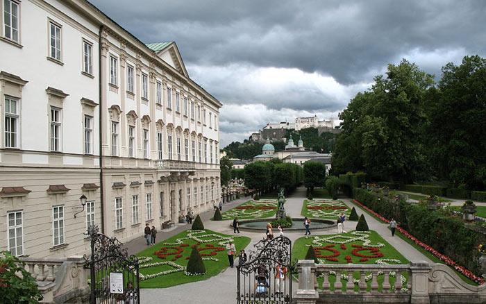 Парк и Дворец Мирабель, Австрия. Фото: Andrew Bossi/сommons.wikimedia.org