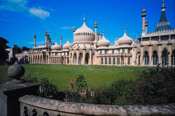 Королевский павильон в Брайтоне: броская роскошь и эклектика. Фото: Jupiterimages/Photos.com