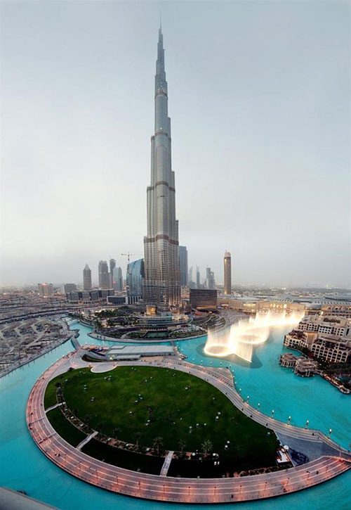 Бурдж Халифа - самое высокое здание в мире. Фото: burj-khalifa.eu
