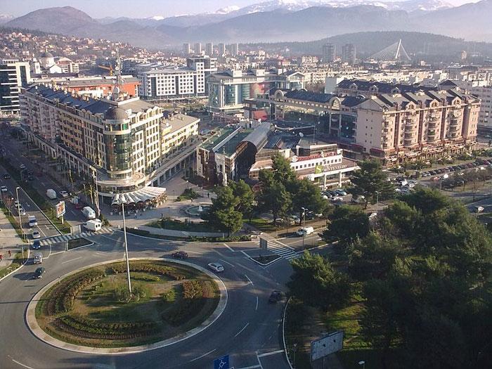 Подгорица – административная столица Черногории, современный европейский город.Фото: Nije bitno/commons.wikimedia.org