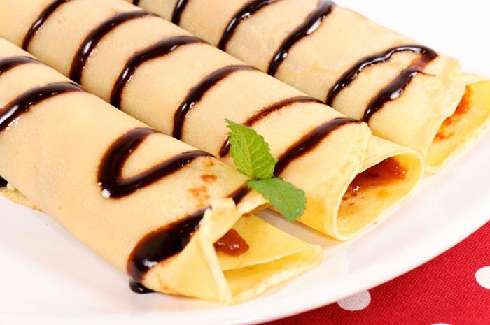 «Палачинке» - блины со сладкой начинкой. Фото: badmanproduction/Photos.com