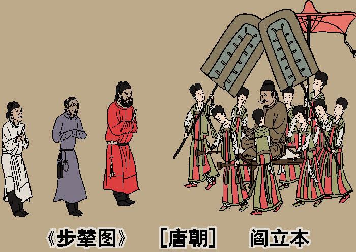 Император Тайцзун династии Тан встречает гостей из Туфани (ныне провинция Синьцзян). Иллюстрация: Великая Эпоха (The Epoch Times)