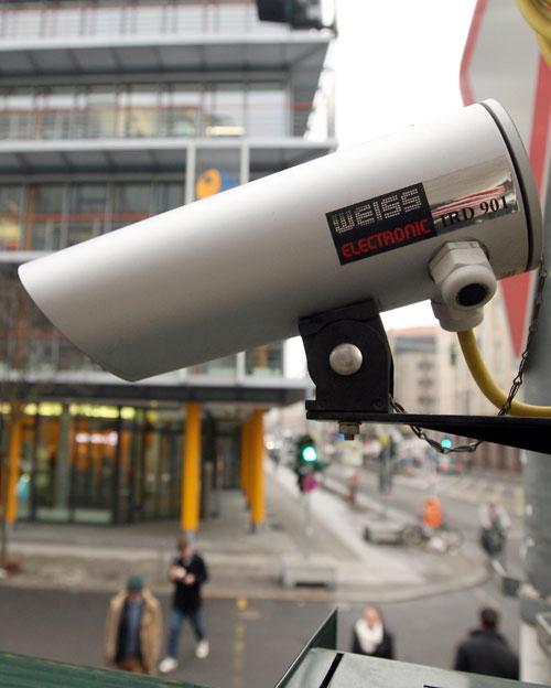 Видеонаблюдение на дорогах Германии. Фото: Adam Berry/Getty Images