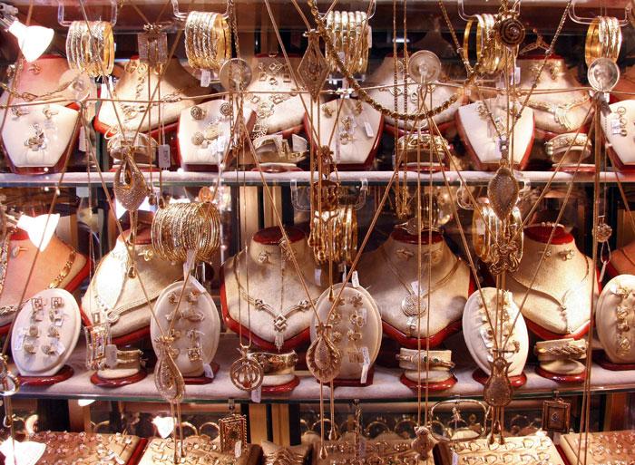 Золотой рынок в центральном торговом районе Дубая – Дейре. Фото: SALAH HABIBI/AFP/Getty   Images