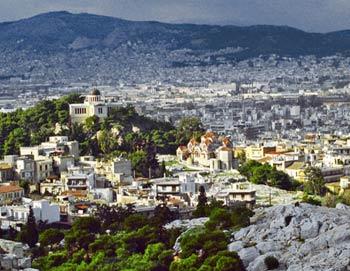Афины. Фото из архива РИА Новости