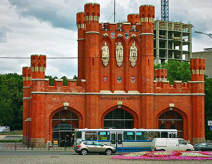 Королевские Ворота после реставрации, Калининград, Россия. Фото: Ingvar Wolf/commons.wikimedia.org