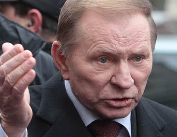 Леонид Кучма прибыл в Генпрокуратуру Украины. Фото РИА Новости
