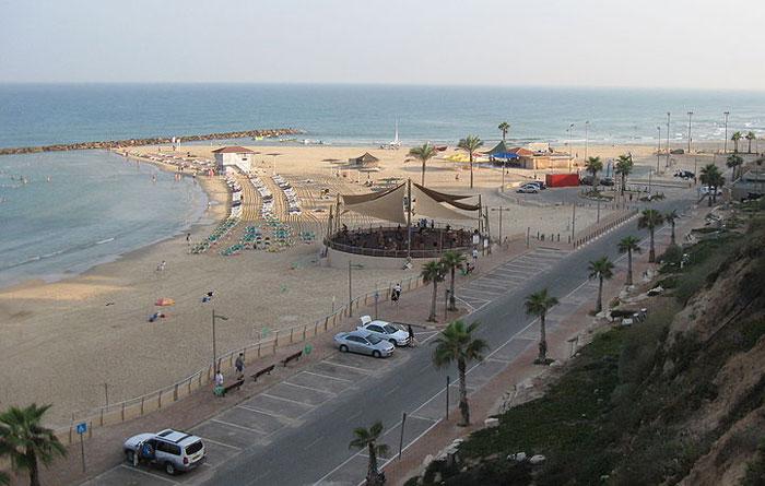 Пляжи Нетании. Фото: Ori/commons.wikimedia.org