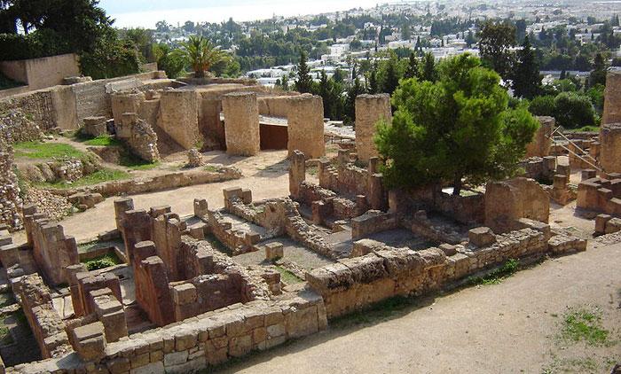 Развалины финикийского квартала на холме Бирса, Карфаген, Тунис. Фото:  BishkekRocks/commons.wikimedia.org