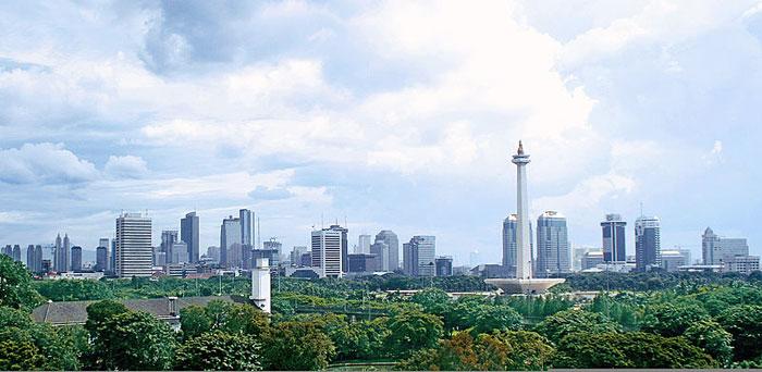 Панорамный вид Джакарты, Индонезия. Фото: Gunawan Kartapranata/commons.wikimedia.org