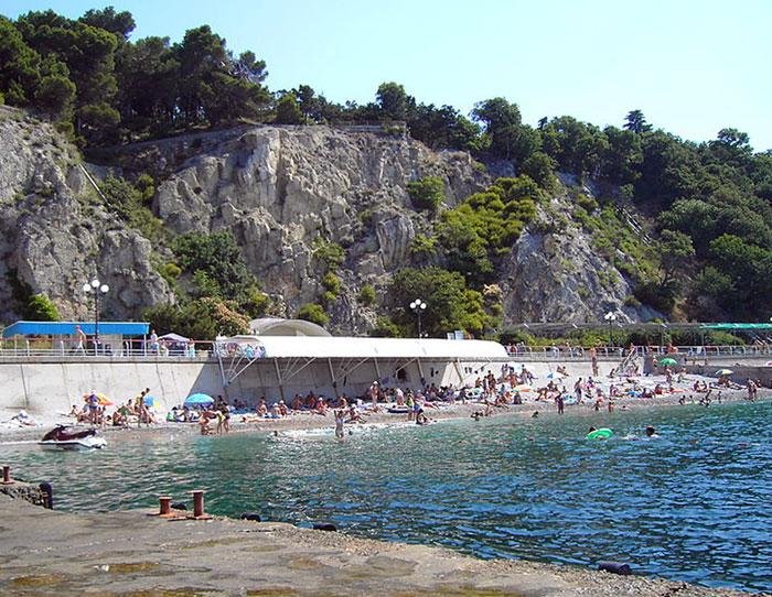 Гаспра — это один из лучших курортов Южного берега Крыма, Украина. Фото: DDima/commons.wikimedia.org