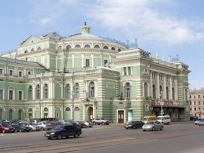Мариинский театр, Санкт-Петербург. Фото: Lite/commons.wikimedia.org