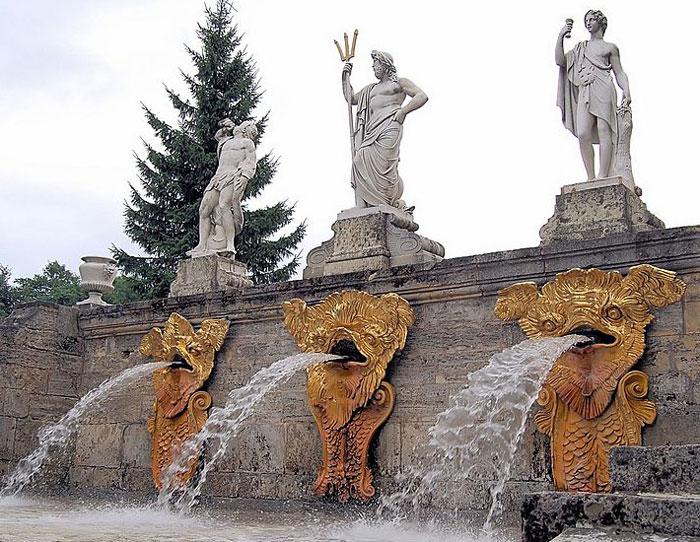Каскад Золотая гора, Петергоф. Фото: Мария 111/commons.wikimedia.org