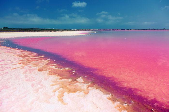 Соляное озеро Торревьеха, Испания. Фото: victor zastol`skiy/Photos.com