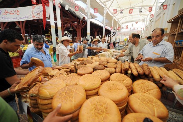 Тунисский хлеб. Фото: FETHI BELAID/AFP/Getty Images