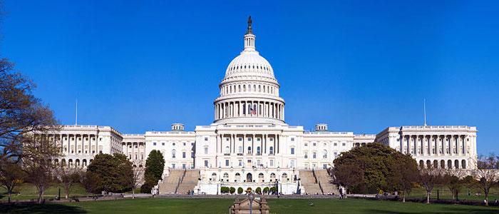 Капитолий — местопребывание Конгресса США на Капитолийском холме в Вашингтоне, округ Колумбия, США. Фото: NoClip/commons.wikimedia.org