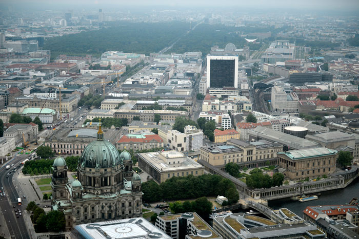 Германия с высоты птичьего полета. фото: Stefan Rampfel/AFP/Getty Images