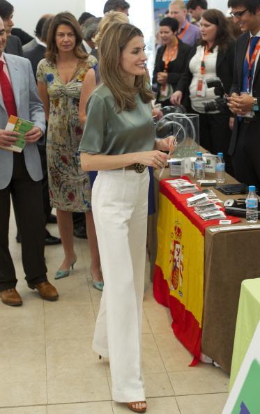 Фоторепортаж об участии испанской принцессы Летиции на конкурсе Ja-Ye Europe Enterprise Challenge 2011. Фото: Carlos Alvarez/Getty Images