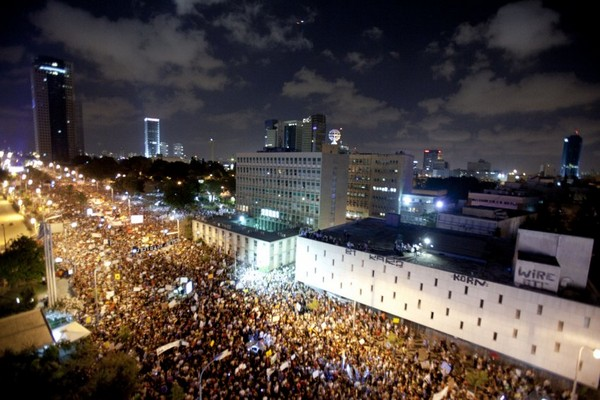 Массовые протесты в Израиле. Фото: spiegel.de